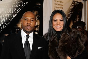 Antoine Fuqua's Wife Lela Rochon Wearing Ring In First Appearance Since Scandal