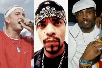 Ice-T, Eminem & Big Proof Connect In Legendary Throwback Clip