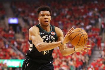 "Giannis Antetokounmpo Sues Company Using ""Greek Freak"" Nickname"