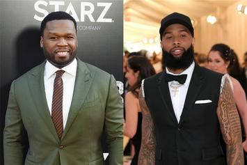 50 Cent Blocks Odell Beckham Jr. For His Ridiculous Underwear Thirst Trap