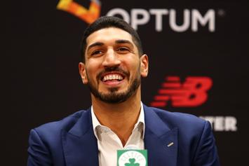 Enes Kanter Fan Tattoos His Name On Her Arm, Gets Banned From Turkey