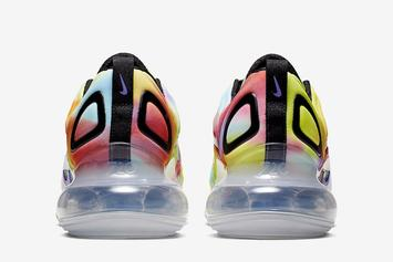 """Nike Air Max 720 """"Tie-Dye"""" Set To Release Soon: Official Images"""