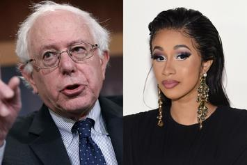 Bernie Sanders & Cardi B Hold Nail Salon Political Discourse