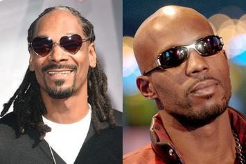 "DMX & Snoop Dogg Connect At 50 Cent's ""Power"" Premiere"