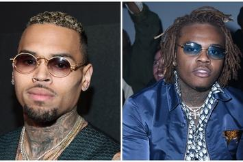 "Chris Brown & Gunna Shoot ""Heat"" Music Video"