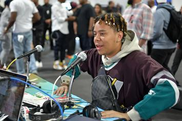 "YBN Cordae Looks Like ""A Goth Waiter"" In Throwback Photo From His Old Job"