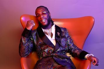 "Burna Boy Gains The Coveted Elton John Co-Sign During ""Rocket Man Radio"""