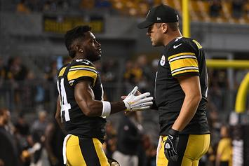 "Antonio Brown Issues Harsh Response To Big Ben: ""Shut Up Already"""