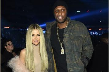 """Khloé Kardashian Thinks Lamar Odom Is """"Courageous"""" For Detailing Addictions"""