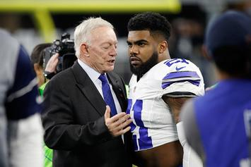 Dallas Cowboys Prepared To Play Without Ezekiel Elliott, Says Jerry Jones