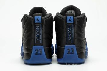 "Air Jordan 12 ""Game Royal"" Drops This Month: Detailed On-Foot Photos"