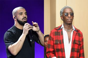 """Drake Forces Restaurant To Bump Young Thug's """"So Much Fun"""" While He Dines"""