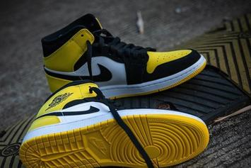 "Air Jordan 1 High OG ""Yellow Toe"" Release Information Updated"