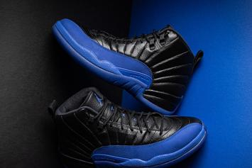 "Air Jordan 12 ""Game Royal"" Beauty Shots Unveiled: Release Details"