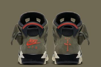 Travis Scott x Air Jordan 6 Rumored Release Date Changed: Details