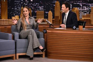 """Jennifer Lopez & Jimmy Fallon Impress With Their Knowledge Of """"Music Video Dancing"""""""
