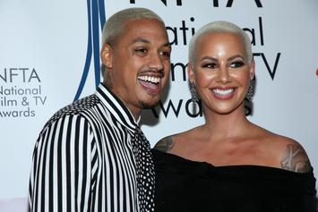 """Amber Rose Is In Love With A.E.'s $200K Grills: """"Get Me Pregnant Again"""""""