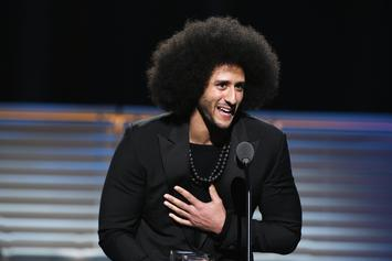 Colin Kaepernick Immortalized With Stunning Diamond Chain For Charity