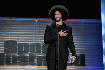 "Colin Kaepernick & Nike's ""Dream Crazy"" Ad Wins Big At The Emmys"