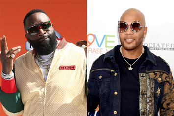Rick Ross' Son & Flo Rida's Toddler Team Up In Cute Birthday Photo