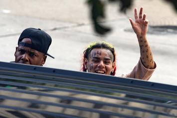 6ix9ine's Tattoo Removal Would Take Over A Year To Complete, Specialist Says