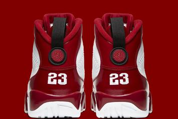 "Air Jordan 9 ""Gym Red"" Channels The Chicago Bulls: Official Photos"