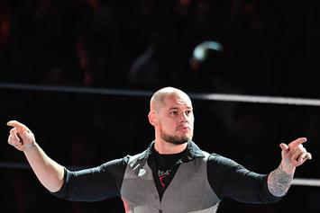 WWE's Baron Corbin Looks Like A Fool As Throne Collapses On Raw: Video