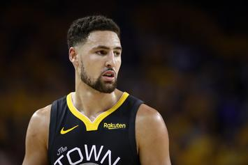 "Klay Thompson Makes His Case For A ""Space Jam 2"" Oscar Nom: Watch"
