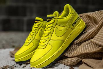 Nike Air Force 1 Gore-Tex Collection Releasing In Multiple Colorways: Photos
