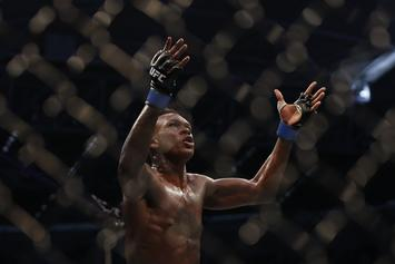 Israel Adesanya Channels His Favorite Anime Following UFC 243 Win
