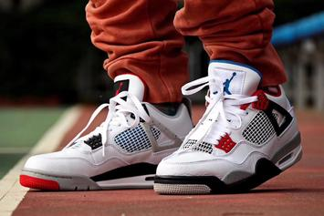 "DJ Khaled Previews Air Jordan 4 ""What The"" Colorway: New Images"
