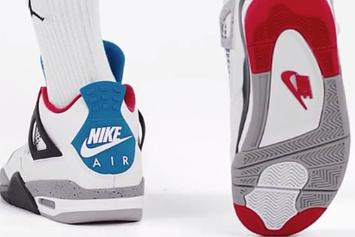 """Air Jordan 4 """"What The"""" Unveiled Through New Product Video: Watch"""