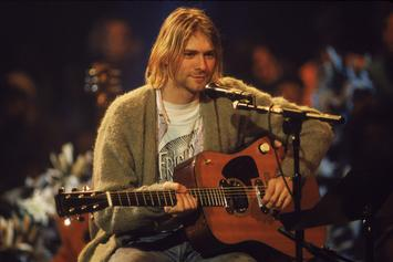 "Kurt Cobain's Iconic Sweater From ""Unplugged"" Performance Hits Auction"