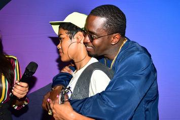 Diddy Spotted Out With A Woman & No, It's Not Lori Harvey