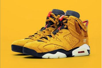 Travis Scott's Air Jordan 6 Rumored To Release In Yellow Colorway