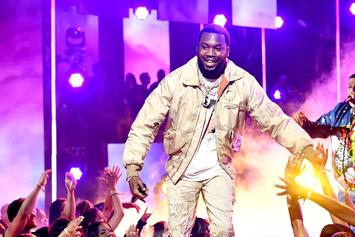 Meek Mill Redeems Himself On The Court With Slow-Mo Self Alley-Oop