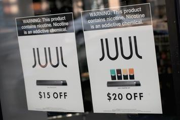 JUUL No Longer Selling Flavoured E-Cigarettes Online