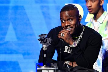 DaBaby Gifts $1,000 To Tearful Homeless Mother With Young Son