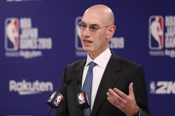 Adam Silver Reacts To LeBron James' Controversial Stance On China