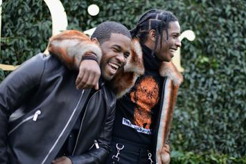 ASAP Rocky Shows ASAP Ferg Some Birthday Love