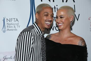 Amber Rose Receives Loving Birthday Message From Alexander Edwards