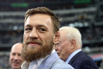 Conor McGregor Avoids Rape Question As Reporter Gets Shut Down: Watch