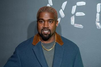 "Kanye West Cops New Jesus Piece Chain After Dropping ""JIK"" Album"