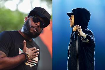 Talib Kweli Offers His Take On Eminem & Lord Jamar's Feud