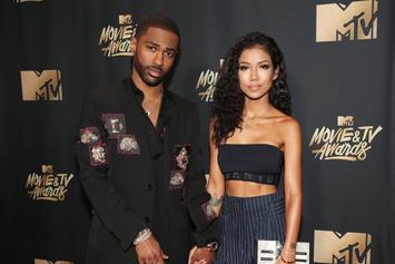 "Big Sean & Jhené Aiko Flirt On Halloween Spider-Man Photo: ""Spider Girth"""