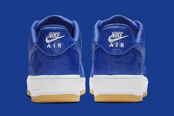 "Clot x Nike Air Force 1 Low ""Blue"" Release Date Revealed: Official Photos"