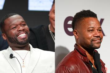"""50 Cent Trolls Cuba Gooding Jr. For Going To Nets Game: """"Tell This N***a To Lay Low"""""""