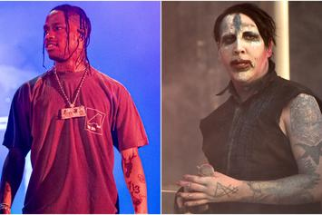 Fans Are Divided By Marilyn Manson's Attendance At Travis Scott's Astroworld Festival