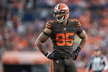 Myles Garrett's Actions Lead To Police Presence In Browns Locker Room