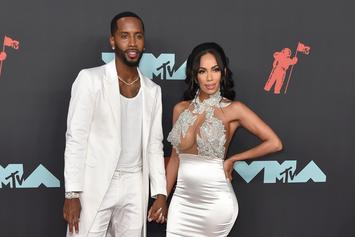 Safaree Gifts Erica Mena With $42K Necklace To Inspire Jewelry Line